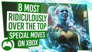 8 Most Ridiculously Over The Top Special Moves On Xbox