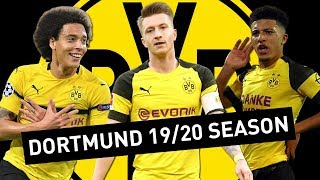 BORUSSIA DORTMUND'S STARTING XI WITH ALL NEW SIGNINGS!