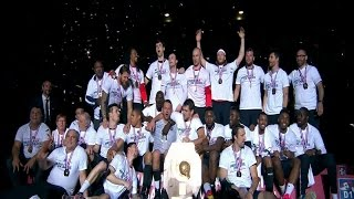 Tremblay en France VS PSG HANDBALL  LNH D1 2015 26e journée