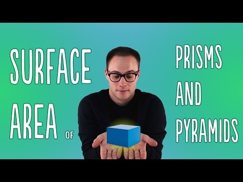 Surface Area of Prisms and Pyramids