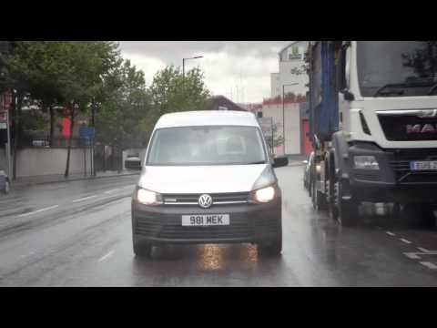 The New Volkswagen Caddy | Safety | Volkswagen Commercial Vehicles