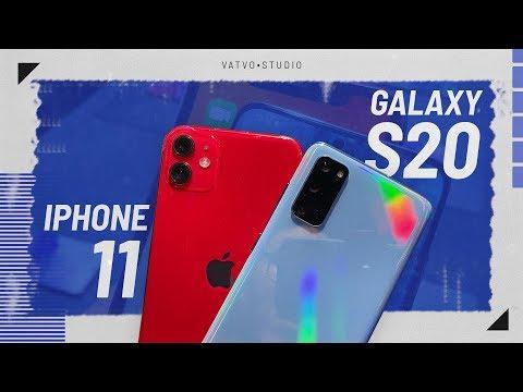 So sánh iPhone 11 và Samsung Galaxy S20