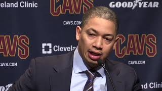 Tyronn Lue on Cavs one-point win over Magic