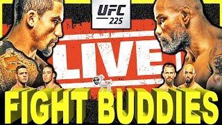 🔴 UFC 225 WHITTAKER VS ROMERO 2 / RDA VS COVINGTON / CM PUNK RETURN LIVE FIGHT REACTION!