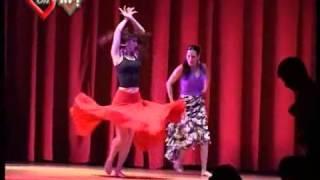 """Актрисы сериала """"Soy Gitano"""". Цыганский танец - поединок."""