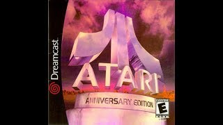 DREAMCAST NTSC GAMES: Atari anniversary edition