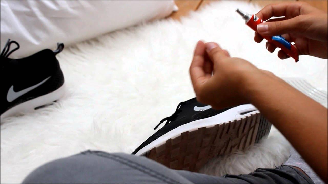 Nike schuhe mit glitzersteinen