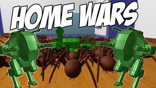 ИГРУШЕЧНЫЕ СОЛДАТЫ ПРОТИВ ЖУКОВ | Home Wars