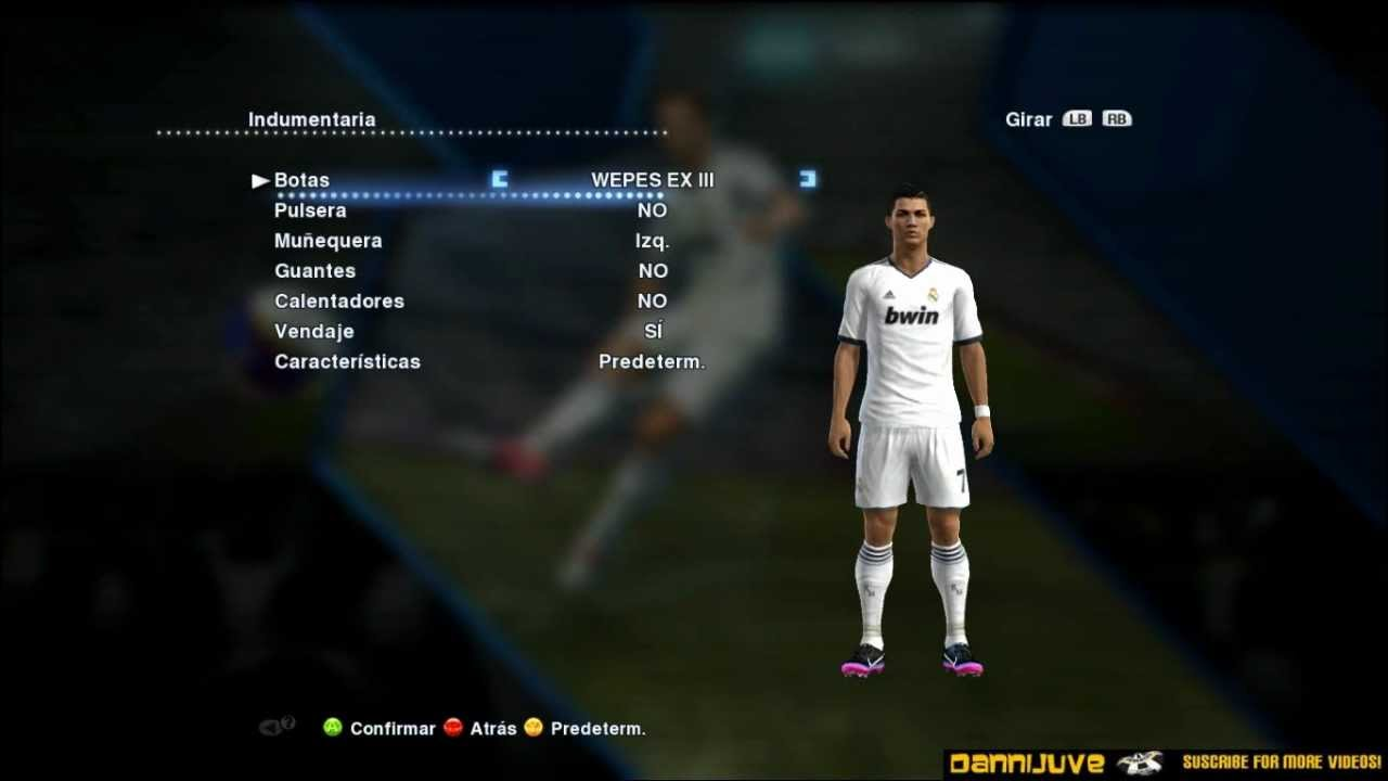 99387172567f PES 2013 - Cristiano Ronaldo New Boots Nike Mercurial Victory III Turf CR7  + Download - YouTube