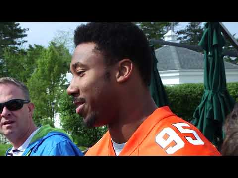 """I called the draft"" - Myles Garrett interview at Cleveland Browns Foundation Annual Golf Tournament"