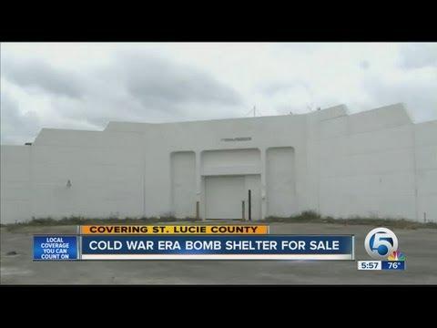 Cold War era bomb shelter for sale