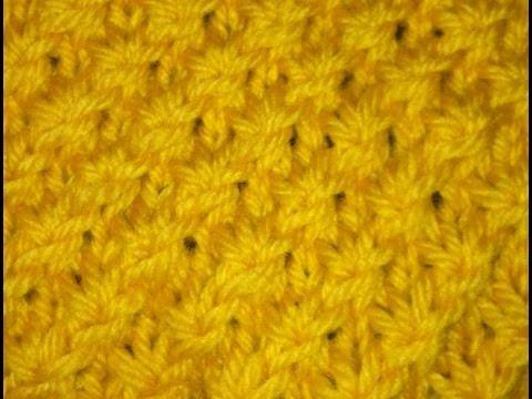 Knit Daisy Stitch Round : Daisy Flower Stitch (Similar To Star Stitch) Doovi