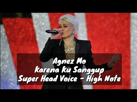 F#6 ??? KUMPULAN VIDEO AGNEZ HIT NADA TINGGI DI LAGU KARENA KU SANGGUP || ALL HEAD VOICE + FALSETTO