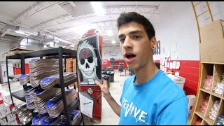 ReVive Skateboards Warehouse Walkthrough - Sam Tabor