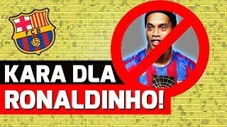 KONIEC Ronaldinho w Barcelonie?!