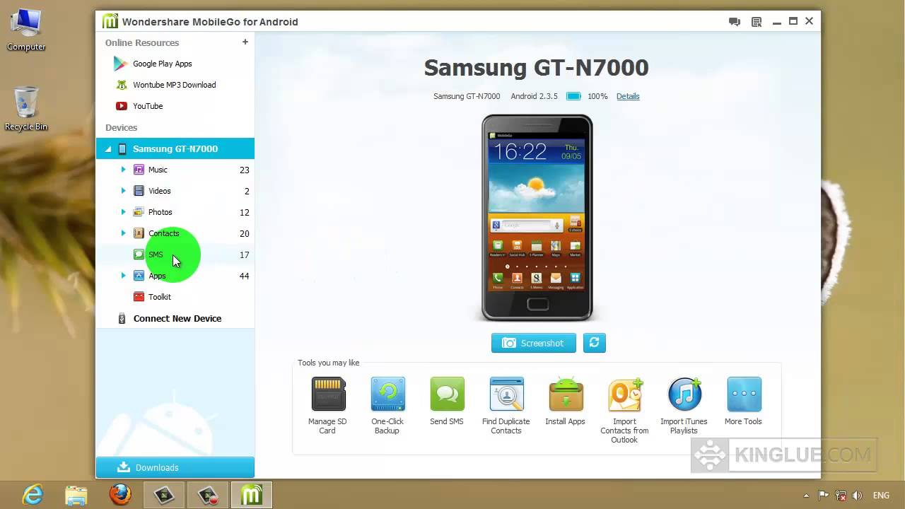 Samsung Galaxy Note How To Import Export Delete Sms Text
