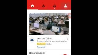 Como criar um canal no Youtube pelo celular 2016