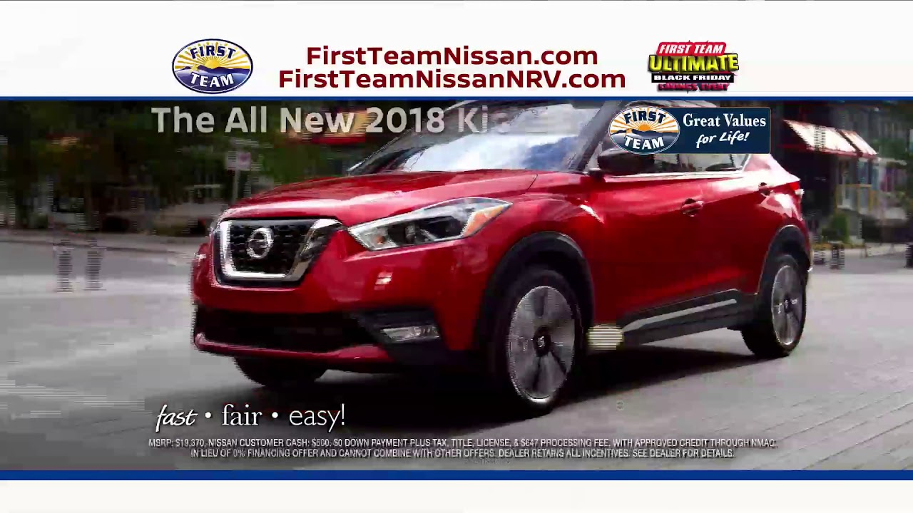 First Team Nissan >> First Team Nissan Ultimate Black Friday Youtube