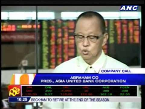 After IPO, what's next for Asia United Bank?