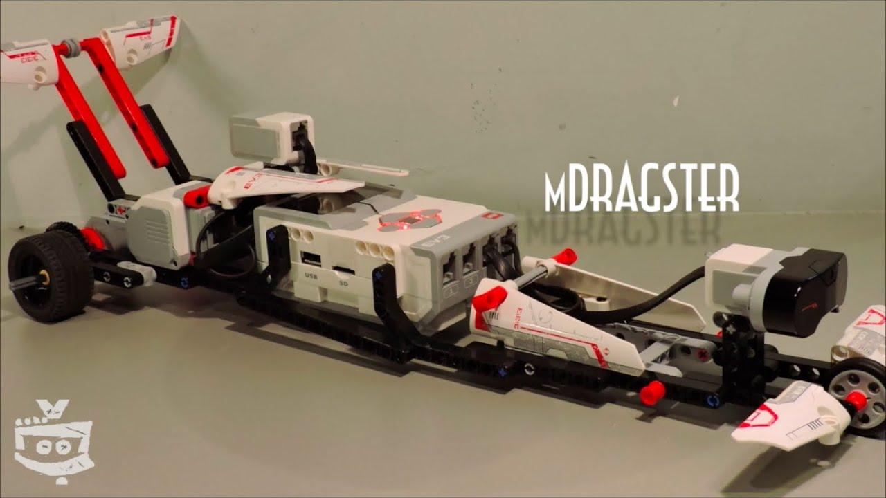 Lego Mindstorms MDragster (111cm/s) - Lego Mindstorms ...