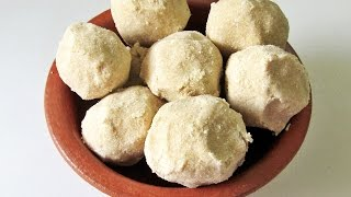 Atta Ladoo Recipe - Wheat Flour Ladoo - Churma Ladoo Recipe | Nisa Homey