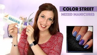 How to Create Mixed Manicures using Color Street