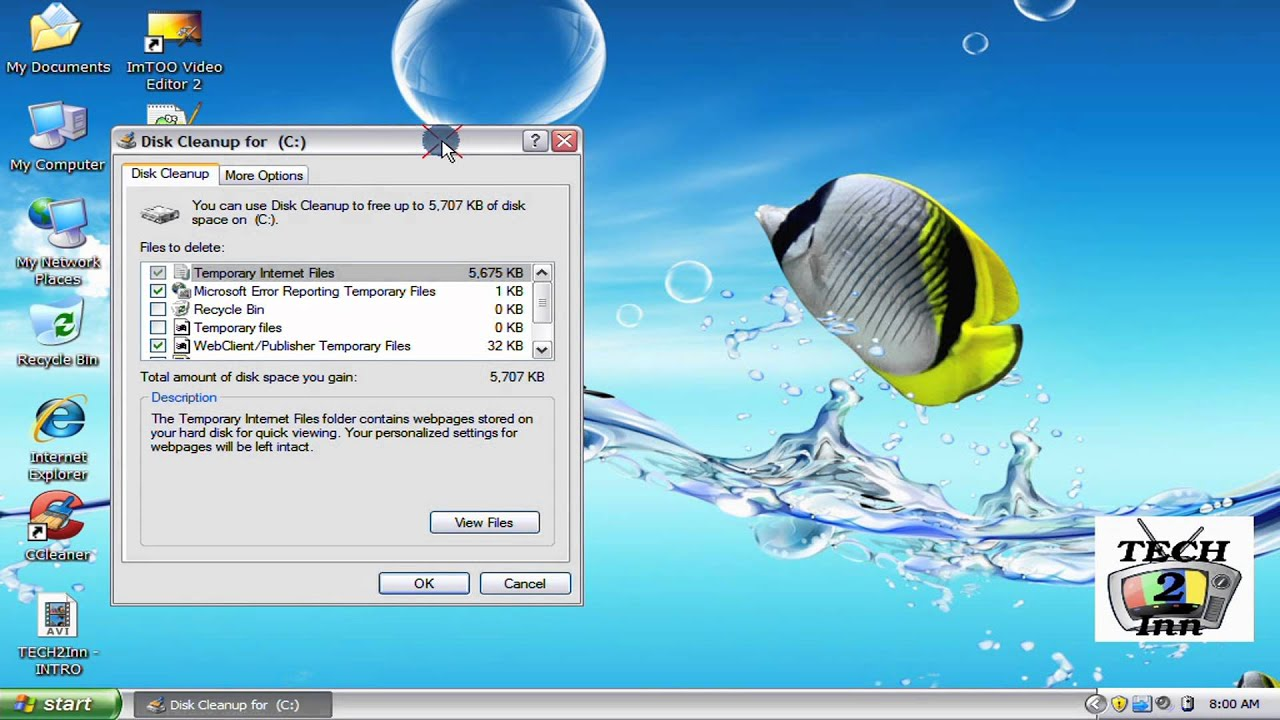 cleanmgr - Run your Deskcleanup using cleanmgr run command ...