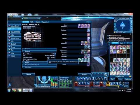 Outdated Ultra High Dps Escort Star Trek Online Fleet Tactical