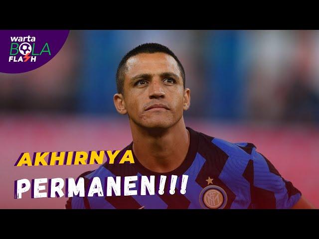 Alexis Sanchez Berhasil Permanen di Inter Milan 🔥 Meludah/Batuk Bisa Berbuah