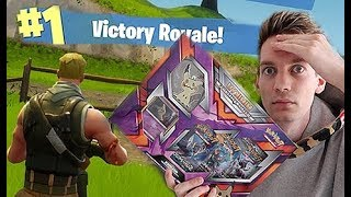 Opening Pokemon Cards While Playing Fortnite