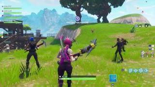 Squads Fortnite battle royale Rockstar skin