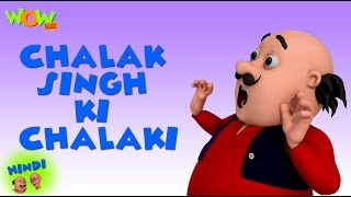 Chalak Singh Ki Chalaki- Motu Patlu in Hindi - 3D Animation Cartoon -As on Nickelodeon