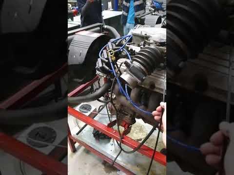 Starting the V6 holden rodeo engine