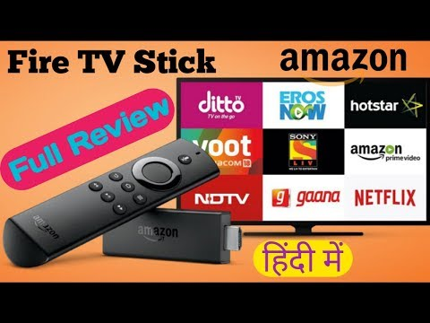 bffb44ad3dd2 Amazon fire TV stick review in Hindi & use kaise kare - YouTube