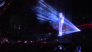 3D Laser show - Michael Jackson - AquaCity Poprad Tatry