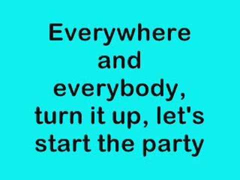 Start The Party Camp Rock Lyrics