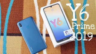 HUAWEI Y6 PRIME 2019 Unboxing and Review