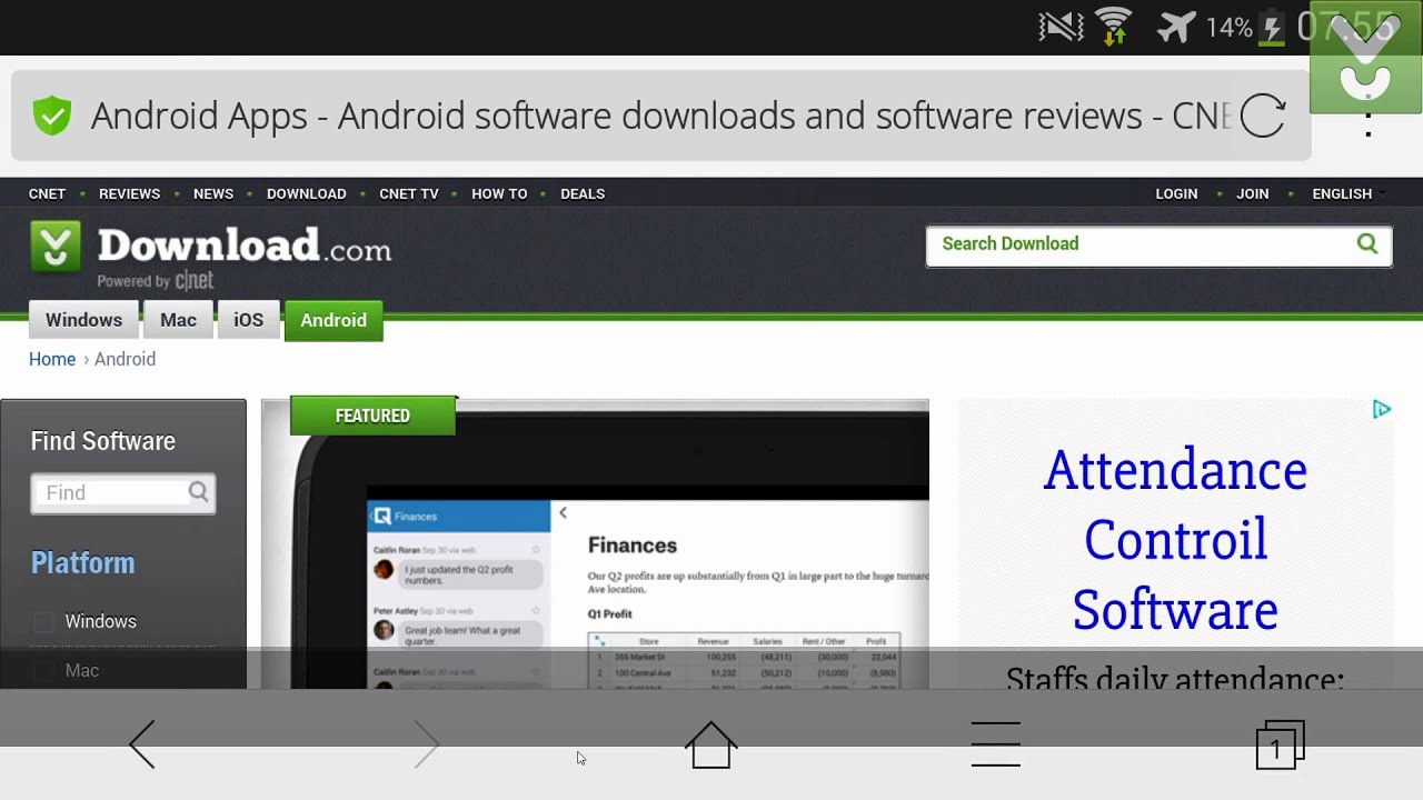 Cm Secure Browser Browse The Web On Your Android Smartphone Download Previews