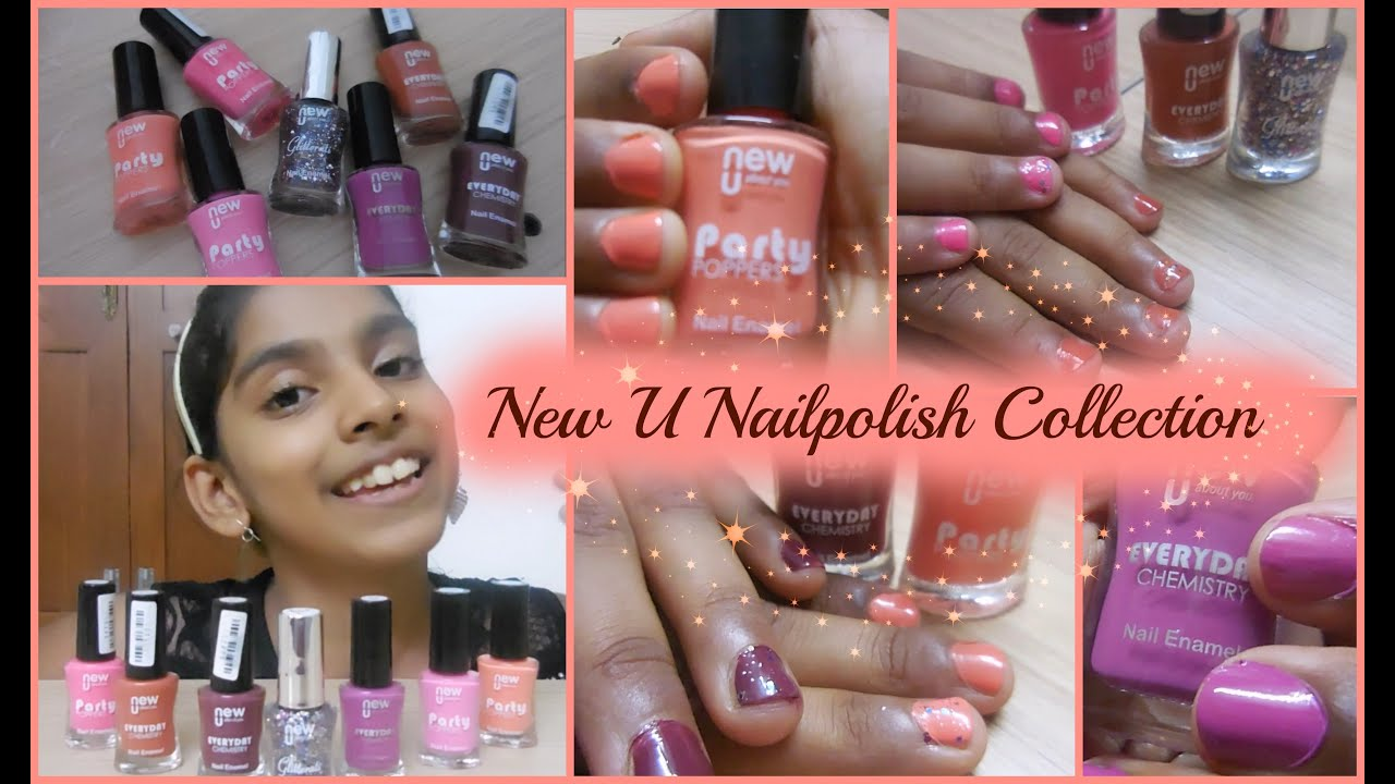 Our nail polish collection - New U - Online shopping - Amazon.in ...