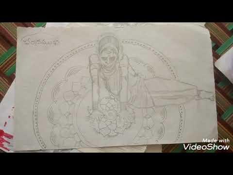 How To Draw Chandramukhi