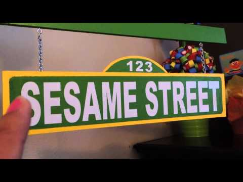 Sesame Street DIY  Party Decor