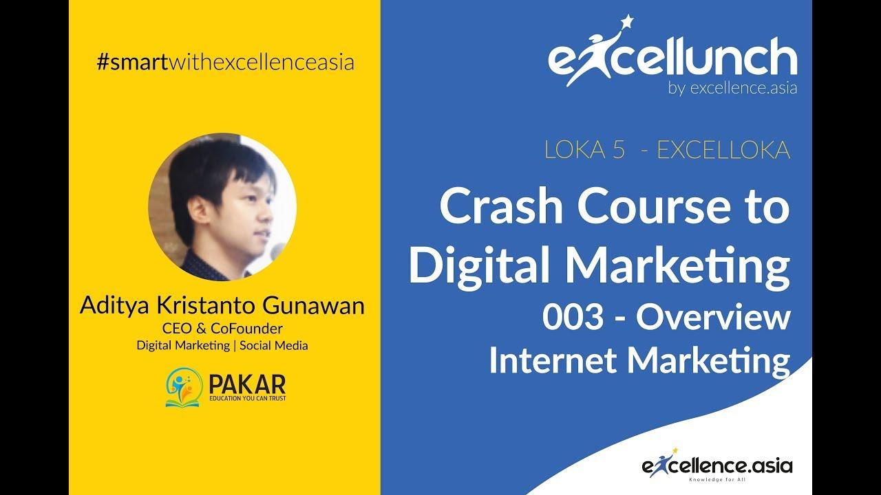 34-003 : (LOKA 5) Digital Marketing (Overview Internet Marketing ...