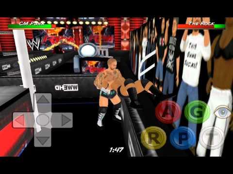 Wrestling revolution 3d mod wwe скачать