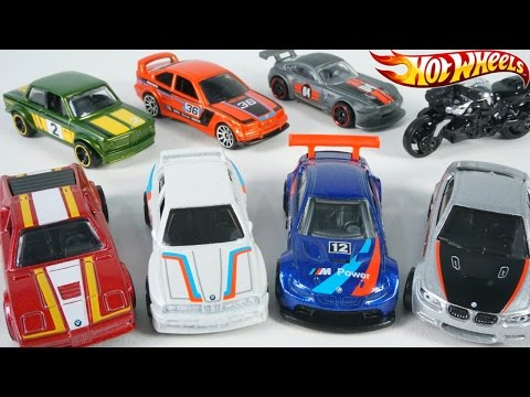 HOT WHEELS BMW SERIES FULL COLLECTION CARS RACE M POWER SPEED CRISS CROSS CRASH TRACK