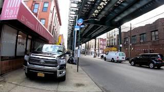 ⁴ᴷ⁶⁰ Walking NYC : Cypress Hills, Brooklyn (Crescent Street & Logan Street)