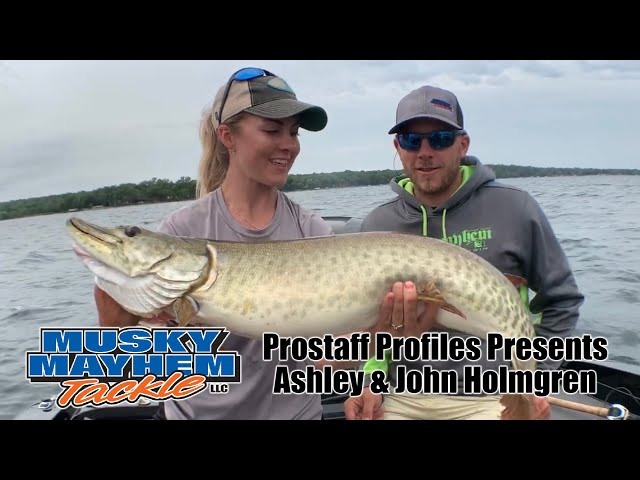 Ashley and John Holmgren Prostaff Profiles