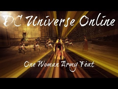 DCUO One Woman Army Feat