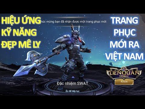 Trang phục mới ra mắt Việt Nam: Lữ Bố Đặc Nhiệm SWAT giá rẻ mà hiệu ứng đẹp mê ly [Mua Và Test Luôn]