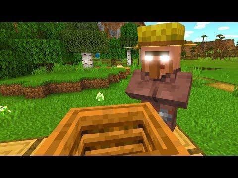 Herobrine possessed this Minecraft villager!