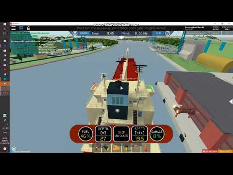 Roblox/ DSSIII / How to earn credits with Alabama-class Container Ship (#8)